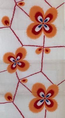 VINTAGE YUKATA COTTON FABRIC #304: BTY