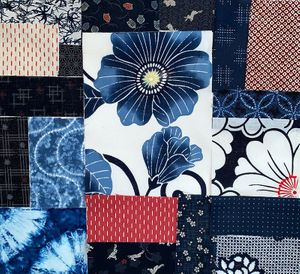 BORO FABRIC COLLECTION #116 - 19 Pieces