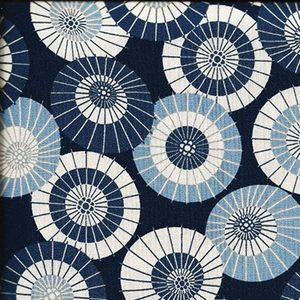 Beautiful Japanese Umbrellas: Blue