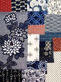 BORO FABRIC COLLECTION #245 - 16 Pieces