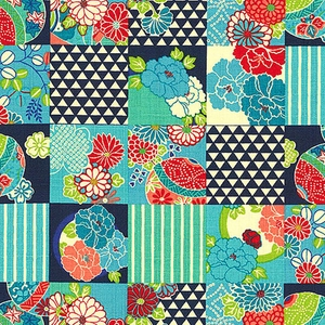 PATCHWORK: Japanese Modern - Teal