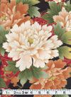 PEONY GARDEN - Red/Gold Metallic - BTY