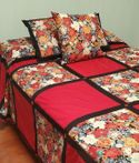 QUILT & PILLOWS by Arlene in HI