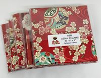 """RED ASIAN - 5"""" CHARM PACK"""