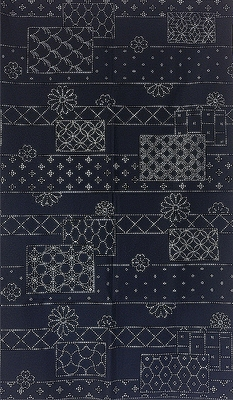 SASHIKO - Block Design - Panel