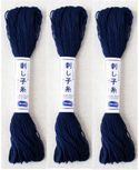 SASHIKO THREAD: Navy Blue - 20 Meter Skein