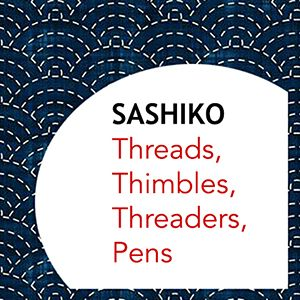 SASHIKO NOTIONS:  THREADS, NEEDLES, PENS, TRACING PAPER