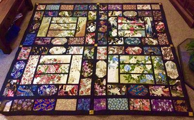 """Summer Palace"" Quilt by Afra in Australia"
