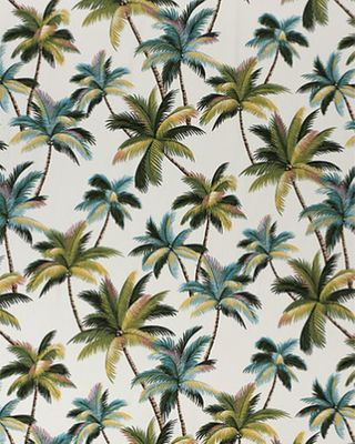 Swaying Palm Trees - Beauty of the Tropics - Cream - BTY