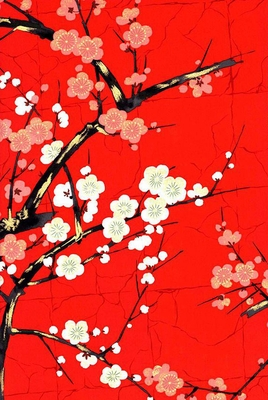 The Beauty of Cherry Blossoms: Red