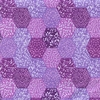 TONAL HEXAGON DESIGN - Purple