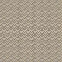 TRADITIONAL SEIGAIHA WAVES: Beige