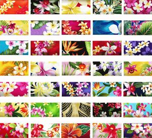 TROPICAL FABRICS BY THE BUNDLE - 10 Pieces