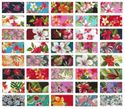 TROPICAL FABRICS BY THE BUNDLE - 8 Pieces