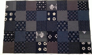 "WAGARA CHARMS - Traditional Japanese - 40 - 5"" Squares"