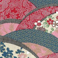 WAVE OF JAPANESE DESIGNS: Red