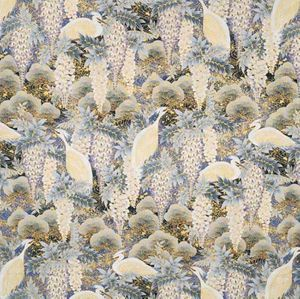WISTERIA & WHITE HERONS: Blue - BTY