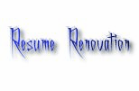 Resume Renovation Cover Letters