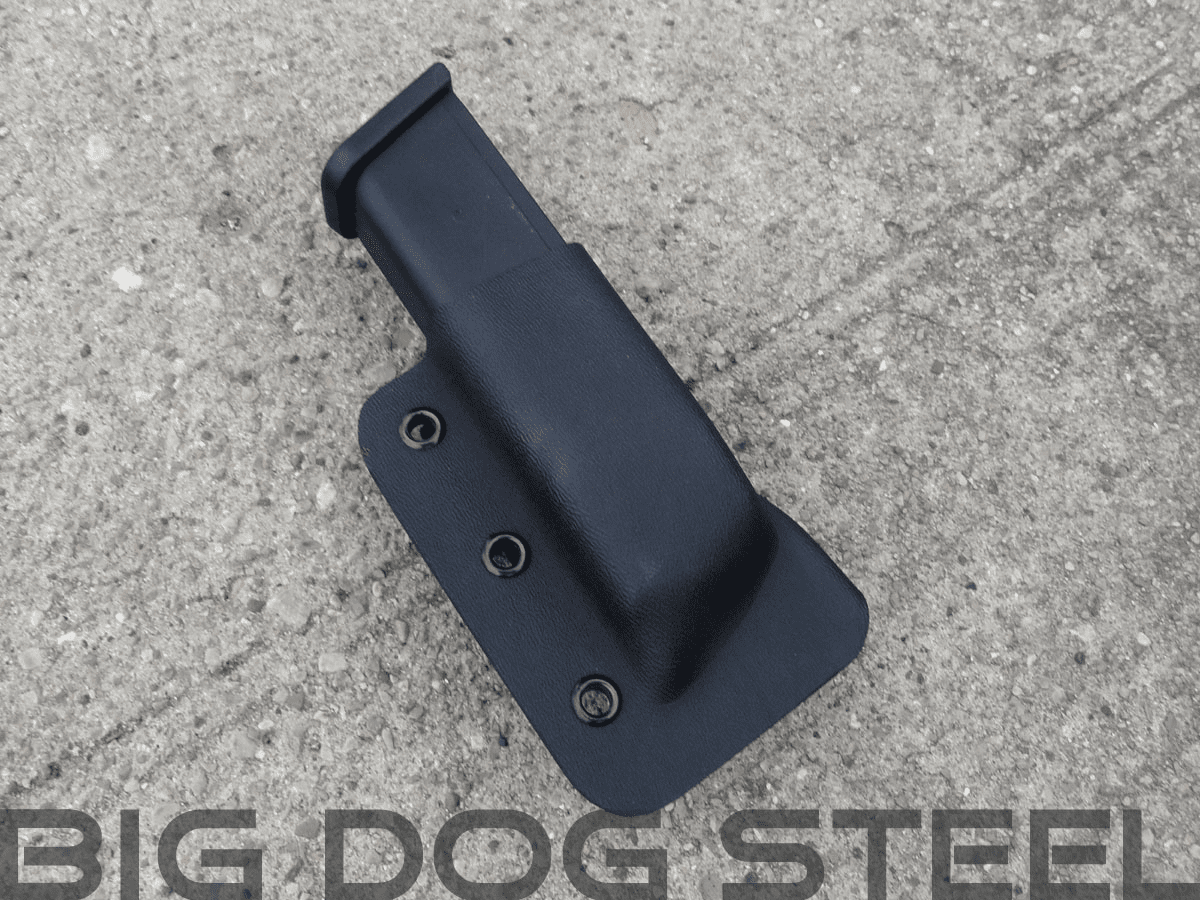 Black Glock 9mm/40s&w Magazine Holster