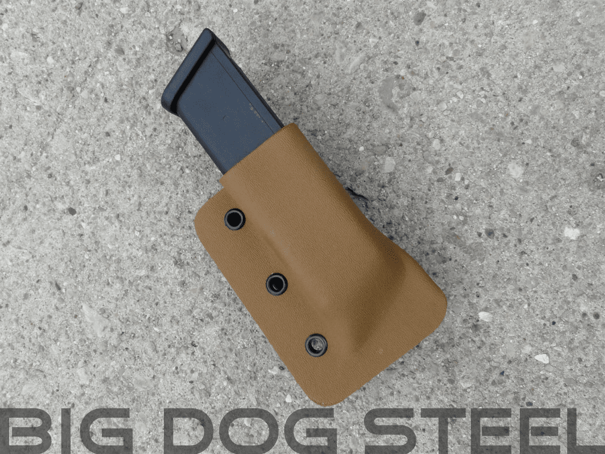 Coyote Tan Glock 9mm/40s&w Magazine Holster