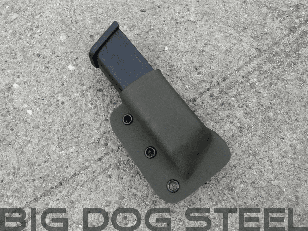 OD Green Glock 9mm/40s&w Magazine Holster