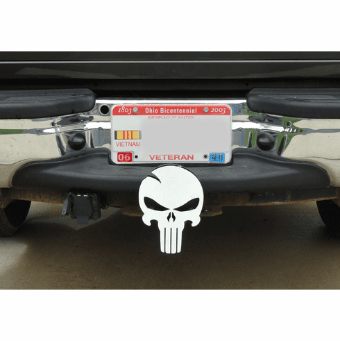 Skull Style Hitch Cover