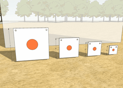 Square Targets