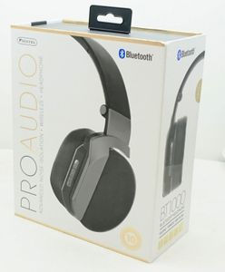 Bt1000gy Studio Style Bluetooth Gray Headphone With
