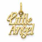 10K Little Angel With Halo Charm