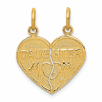 14K Break-Apart Mom & Daughter Charm