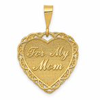 14K For My Mom Charm