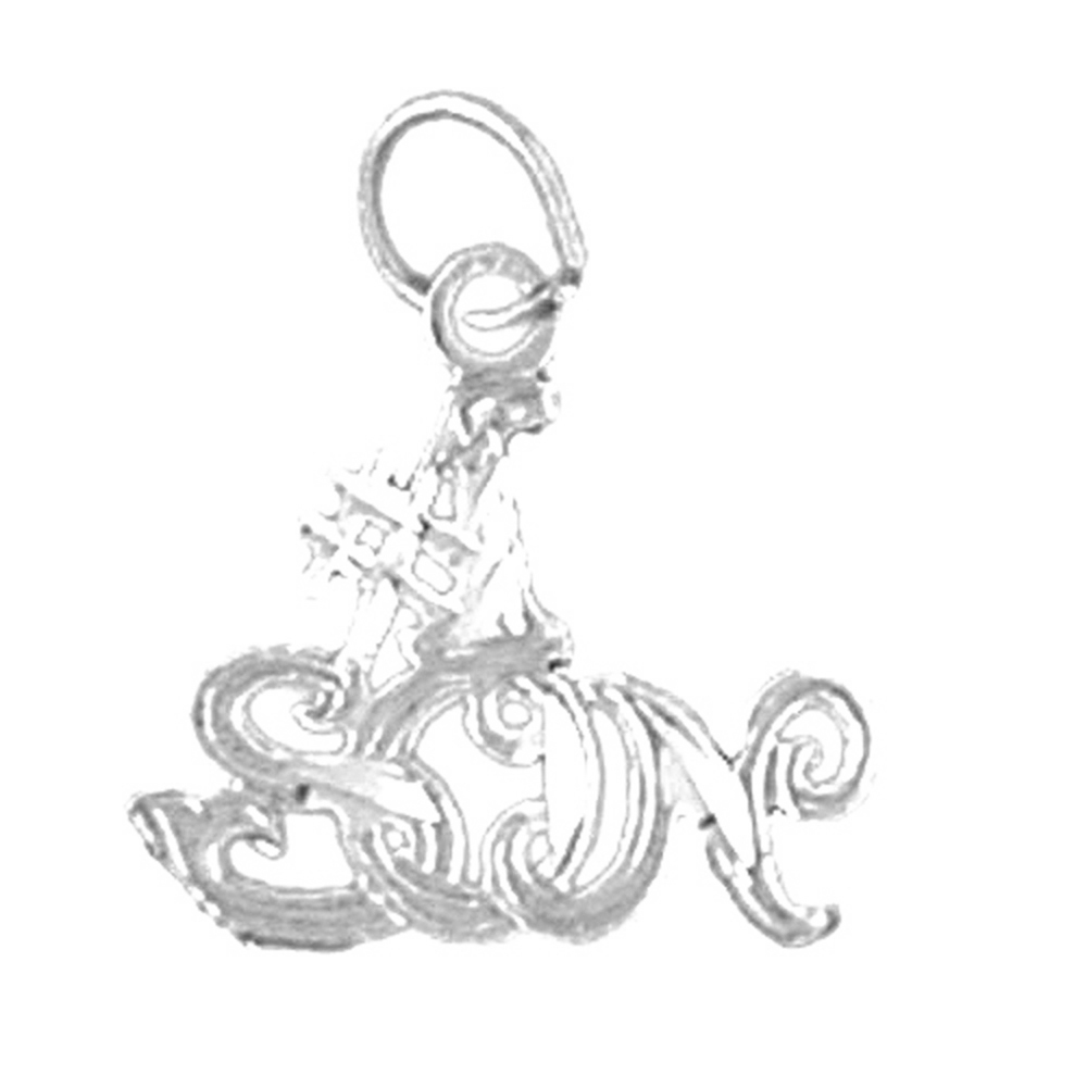 Sterling silver 925 precious baby pendant sterling silver pendants sterling silver precious baby pendant rhodium yellow rose or black gold plated aloadofball Gallery