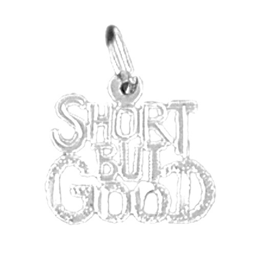19 mm Sterling Silver 925 Saying Pendant Jewels Obsession Saying Pendant