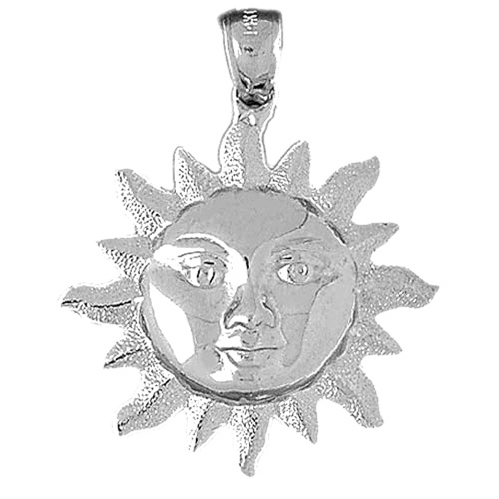 JewelsObsession Sterling Silver 36mm Cross Charm w//Lobster Clasp