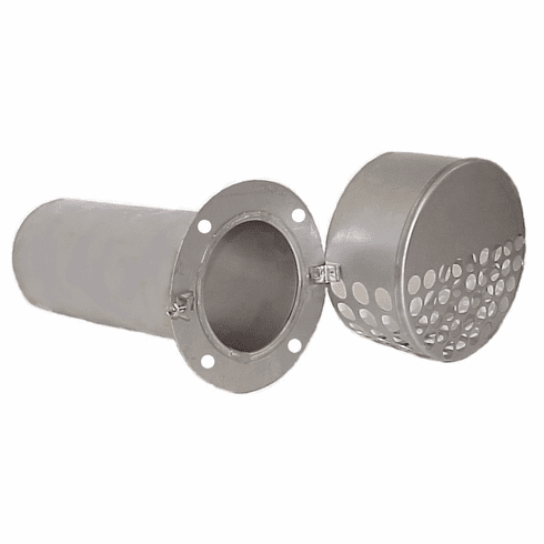 """4"""" Stainless Steel Dryer Vent"""