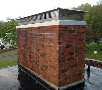Crown Mount Multi Flue Chimney Caps