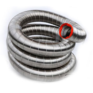 Single Ply Chimney Liner Coils