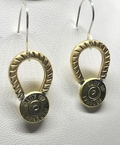 45 Bullet Earrings
