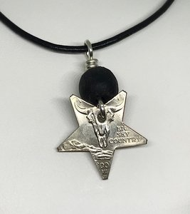 Montano State Quarter Star Necklace