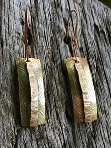 Southwestern Brass Earrings