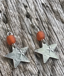 Texas Longhorn Earrings