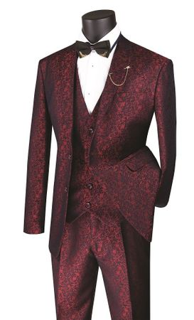 Slim Fit 3 Piece Suit