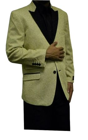After Midnight Men's Champagne Gold Tuxedo Jacket Temptations