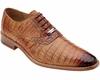 Belvedere Mens Honey Crocodile Shoes Edo Size 8.5 Final Sale
