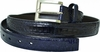 Belvedere Mens Navy Genuine Crocodile Skin Belt 1999