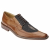 Belvedere Milan Mens Camel Eel Stingray Shoes 2N4