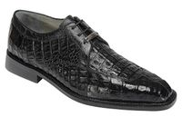 Belvedere Shoes Black Mens Crocodile Skin Shoes Susa P32