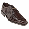 Belvedere Shoes Brown Mens Crocodile Skin Shoes Susa P32