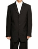 Tazio Black Suit For Men 3 Button M069