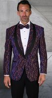 Statement Blazer For Men Royal Fancy Pattern Design LJ 103